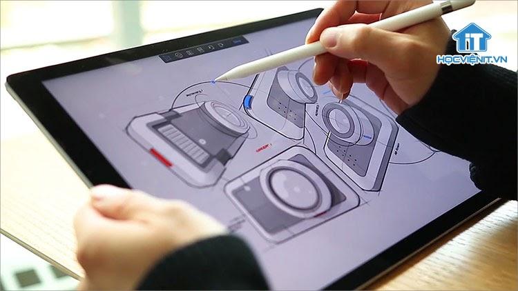 Windows 10 ARM hỗ trợ AutoDesk's Sketchbook