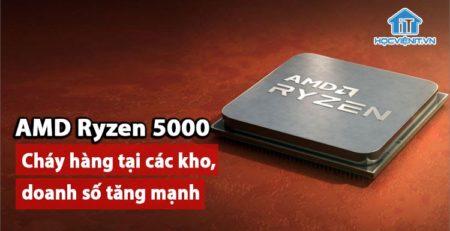 Doanh số AMD tăng mạnh trong 2 tháng cuối năm 2020