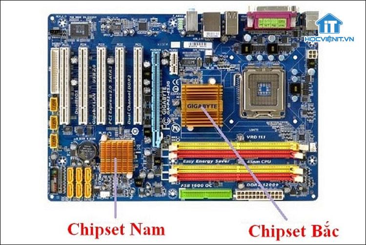 Chipset bắc và chipset nam trong máy tính