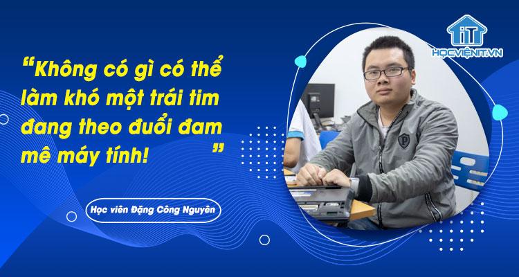 Không có gì có thể làm khó một trái tim đang theo đuổi đam mê máy tính!