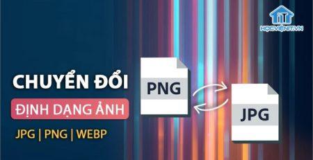 Mẹo chuyển PNG sang JPG và nhiều định dạng khác