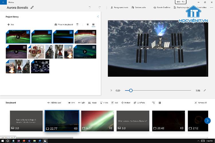 Sử dụng Video Editor để bỏ âm thanh từ video