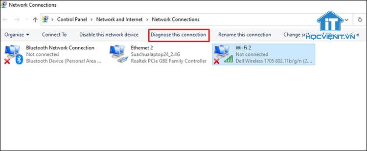 Sử dụng Windows Diagnostic