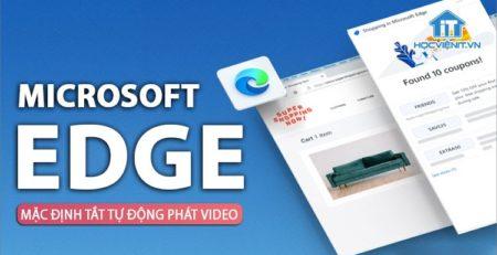 Hạn chế các website tự động phát video trên Edge