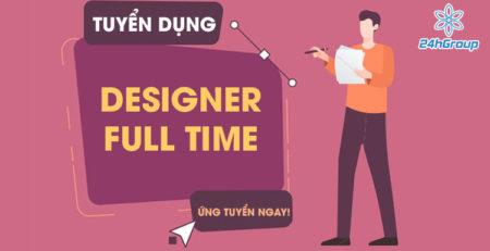 Tuyển dụng Designer Full Time đi làm ngay