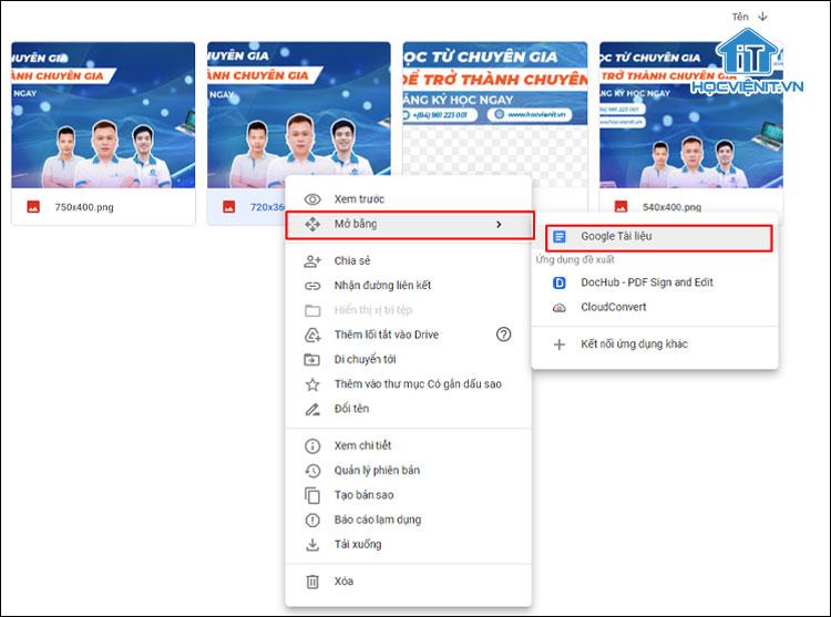 Cách chuyển hình ảnh thành văn bản bằng Google Tài liệu