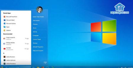 Giao diện hệ điều hành Windows 7