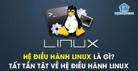 Hệ điều hành Linux là gì? Tất tần tật về hệ điều hành Linux