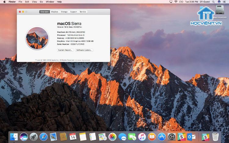 Hệ điều hành MacOS