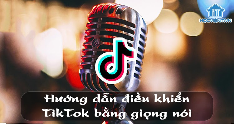 Điều khiển TikTok bằng giọng nói đơn giản