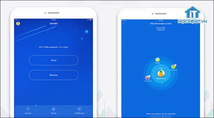 Cách chuyển dữ liệu từ Android sang iOS bằng SHAREit