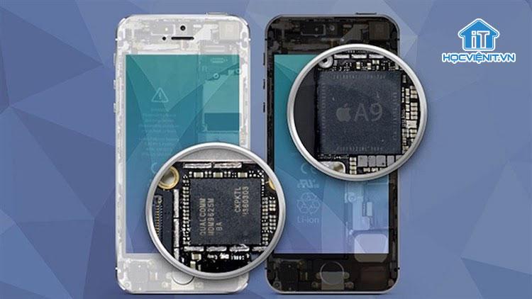 Chip nhớ lưu dữ liệu trên iPhone