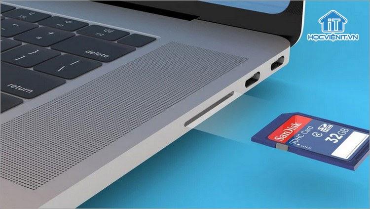 Đầu đọc thẻ SD trên MacBook Pro mới sẽ nhanh gấp 3 lần mẫu MacBook trước đó