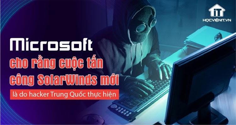 Hacker Trung Quốc nhắm mục tiêu vào các cơ quan chính phủ Mỹ