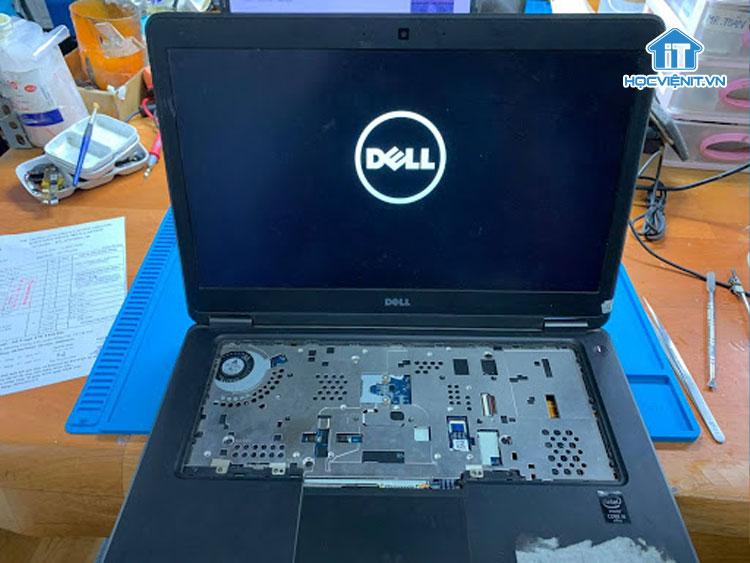Hoàn thiện lại máy và test tổng thể laptop Dell Latitude e7450