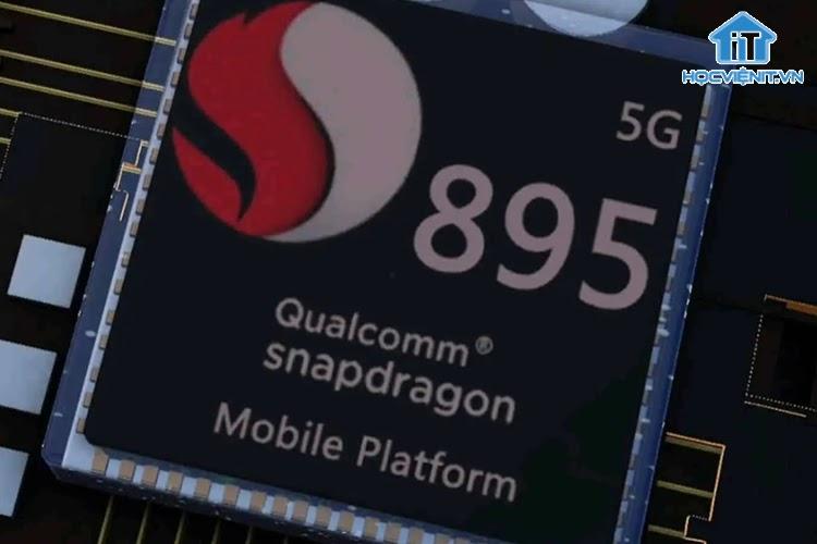 Chip Snapdragon 895 dự kiến sẽ ra mắt vào cuối năm nay.