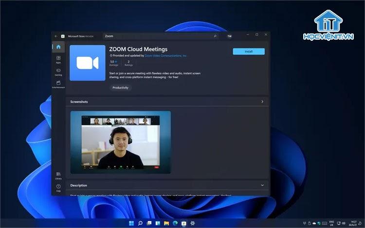 Ứng dụng Zoom đã có mặt trên Windows Store