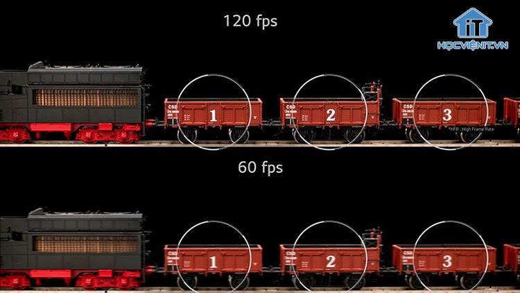 Chỉ số FPS càng cao thì hình ảnh hiển thị trong game sẽ càng rõ nét và chân thực