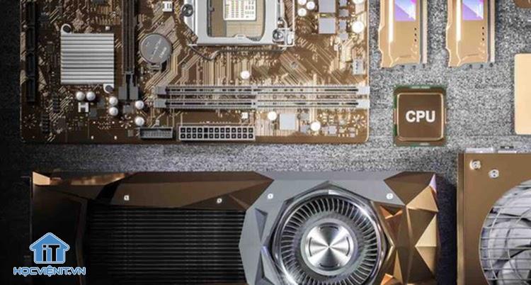 Cùng với GPU, CPU sẽ giúp xử lý các hình ảnh và hiệu ứng trong game