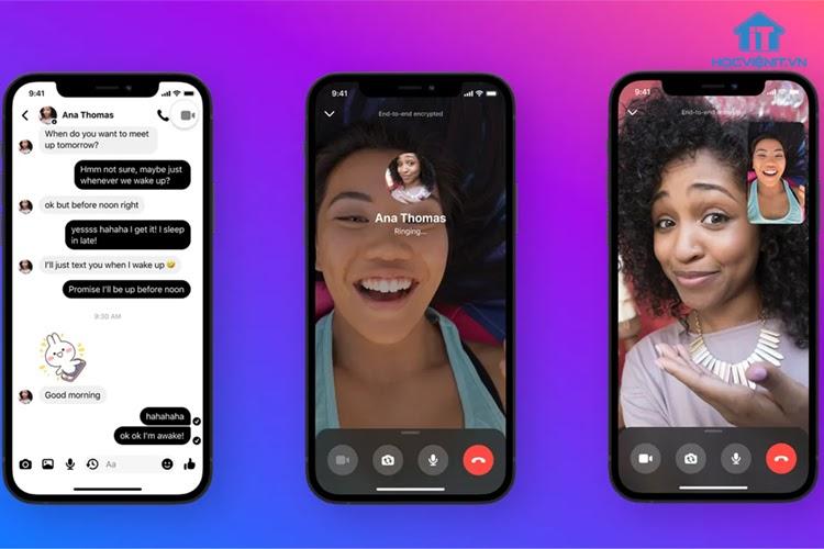 Gọi điện video được mã hóa trên Messenger