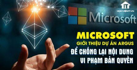 Microsoft nỗ lực chống lại nội dung vi phạm bản quyền