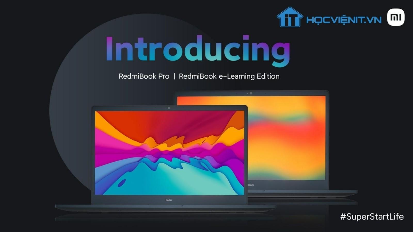 Redmi phát hành RedmiBook Pro và RedmiBook e-Learning Edition tại Ấn Độ