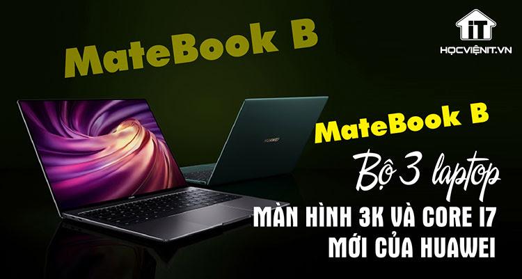 Matebook B dành cho dân văn phòng
