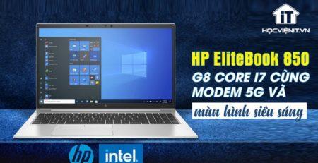 HP EliteBook 850 G8 có thiết kế sang trọng