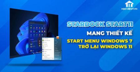 Start11 bao gồm một kiểu cũ của menu Start của Windows.