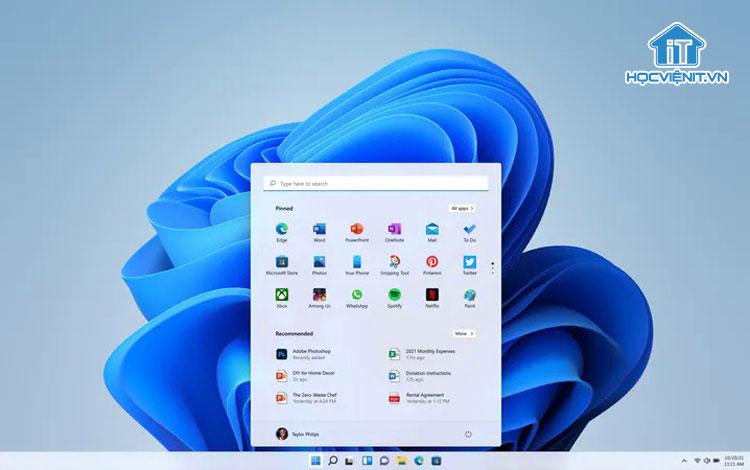 Giao diện mới của Windows 11