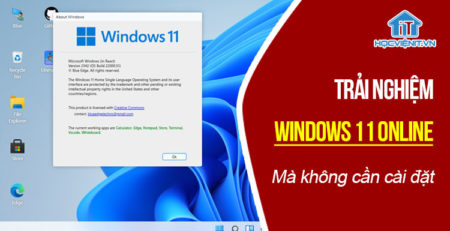 Trải nghiệm Windows 11 online ngay mà không cần cài đặt
