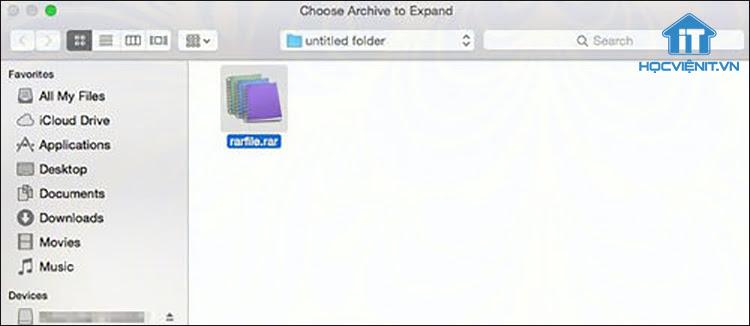 RAR Expander là phần mềm hỗ trợ giải nén các file RAR cùng làm việc với Apple Scripts