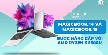 MagicBook 14 và MagicBook 15 đều sử dụng CPU AMD Ryzen 5 5500U