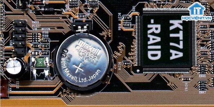 Tác dụng của pin - chip CMOS