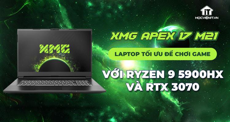 XMG ra mắt laptop gaming 17.3 inch mới