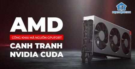 AMD công khai mã nguồn mở GPUFORT